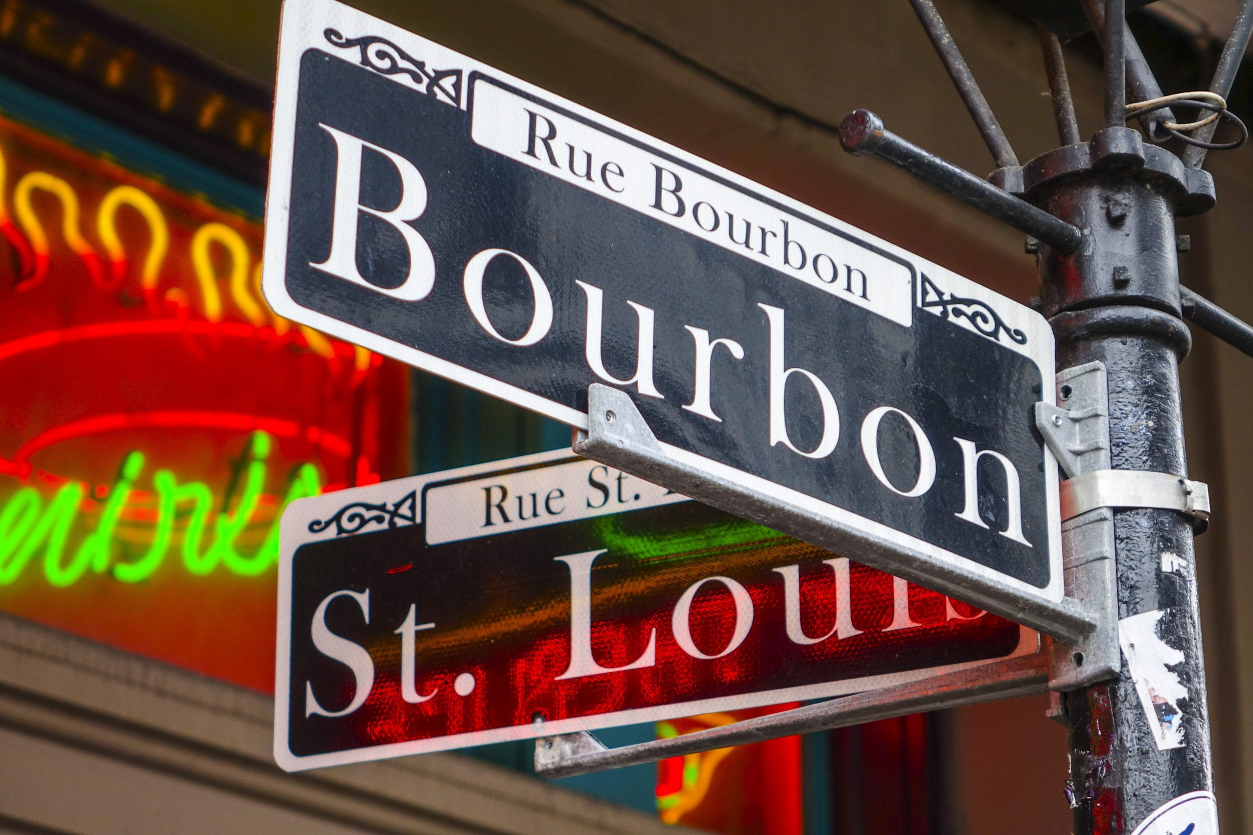 Bourbon-and-StLouis sign